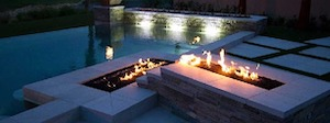 Modern Fire Pit-13 Ideas To Customize Your Home (Part 2 Of 2)-Richardson Custom Homes-Fort Myers-300x112jpg